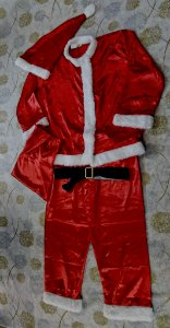 Roupa Papai Noel adulto