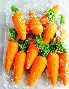 Cenoura para enfeite tamanho grande