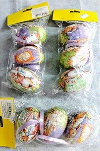 Ovos decorativos desenhados