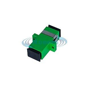 Conector Emenda Óptica SC/APC (ADAPTADOR)