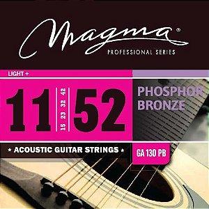 Encordoamento MAGMA Violão Phospor Bronze 11-52