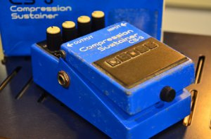 Pedal BOSS Compression & Sustainer CS-3