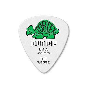 Palheta Dunlop Tortex The Wedge 88MM Pack com 12