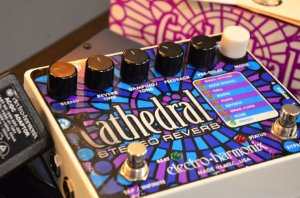 Pedal EHX Cathedral Stereo Reverb