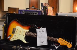 Fender Stratocaster Custom Shop 1958 Reissue Relic Masterbuilt John Cruz