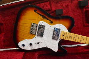 Guitarra Squier Telecaster Thinline 72 Vintage Modified
