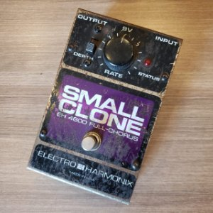 Pedal EHX Small Clone