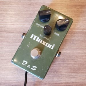 Pedal Maxon D & S Distortion Sustainer Made in Japan