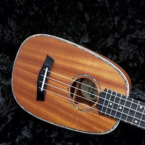 Ukulele Seizi Maui Plus – Pineapple Concert Elétrico Bag Sapele