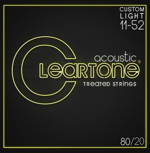 Jogo de cordas Cleartone 011 Bronze 80/20 Violão Aço
