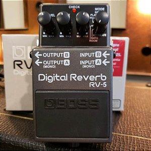 Pedal BOSS Reverb RV-5 (Semi-novo)