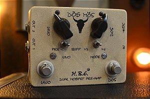 Pedal H.B.E Dos Mos Dual Mosfet Pre-Amp