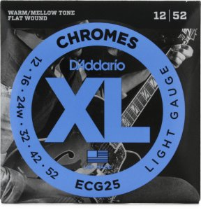 Encordoamento Daddario CHROMES 12/52