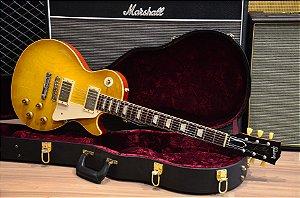 Guitarra Gibson Les Paul CS 1958 Reissue Lemon Burst