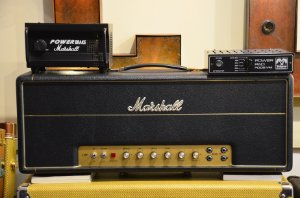 Amplificador Marshall 1959 HW + Marshall Power Brake