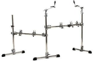 DW 9000 Drum Rack c/ Lateral e DW Floating Snare