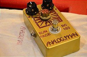 Pedal Analog Man Sun Face BC183