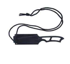 Faca tática Boot NTK Tático com bainha rígida e cordão de segurança
