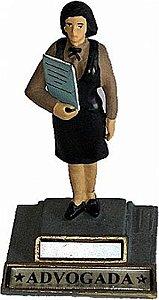Boneca de chumbo Advogada