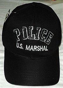 Boné POLICE U.S MARSHAL
