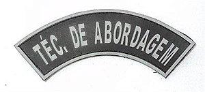 Listel emborrachado TÉC. DE ABORDAGEM