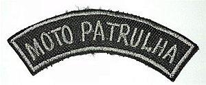 Listel bordado MOTO PATRULHA