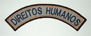 Listel bordado DIREITOS HUMANOS
