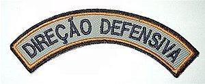 Listel bordado DIREÇÃO DEFENSIVA