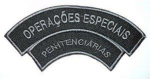 Listel bordado OPERAÇÕES ESPECIAIS PENITENCIÁRIAS