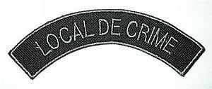Listel bordado LOCAL DE CRIME