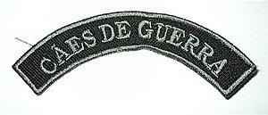 Listel bordado CÃES DE GUERRA