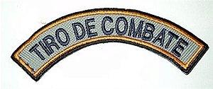 Listel bordado TIRO DE COMBATE