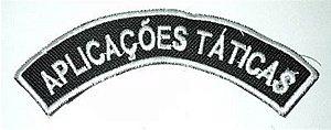 Listel bordado APLICAÇÕES TÁTICAS