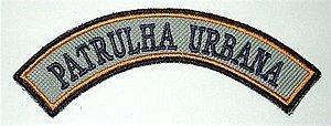 Listel bordado PATRULHA URBANA