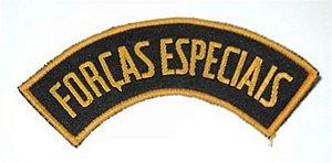Listel bordado FORÇAS ESPECIAIS