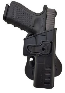 COLDRE GLOCK G17/G22 COM TRAVA + PADDLE SÓ COLDRES