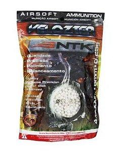 Munição NTK Tático para airsoft BBs de alta qualidade e precisão 0,25 gramas Velozter