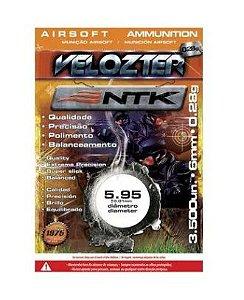 Munição NTK Tático para airsoft BBs de alta qualidade e precisão 0,28 gramas Velozter