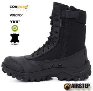 EASY BOOT 8628-1. BLACK BOOT LIGHT AIRSTEP