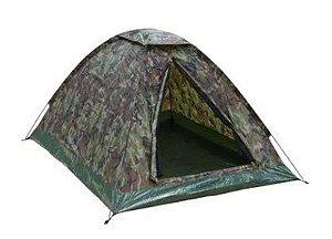 Barraca para camping Kongo 3 NTK até 3 pessoas camuflada com 600 mm de coluna d'água