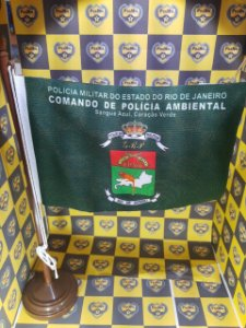 BANDEIRA DE MESA POLÍCIA AMBIENTAL