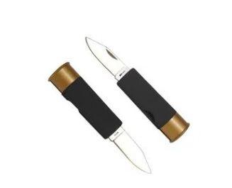 Canivete NTK Tático em formato de cartucho de 12GA