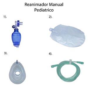 Reanimador Manual Descartável - PVC