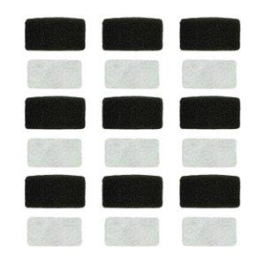 9 Filtros Espuma M.Series + 9 Filtos Ultra Fino Branco M.Series