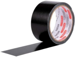 Fita Black Tape Adelbras 48mmx10m