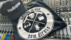 Camiseta Técnico de Som