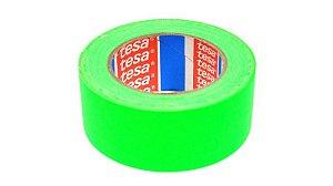 Fita Tecido Gaffer Verde Fluor 4,8cm x 25m