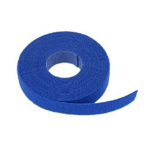 Rolo Velcro® Slim Azul 3 metros