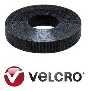 Rolo Velcro® Slim Preto 3 metros