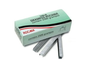 Grampo Reto Rocama 106/8 c/ 2.500